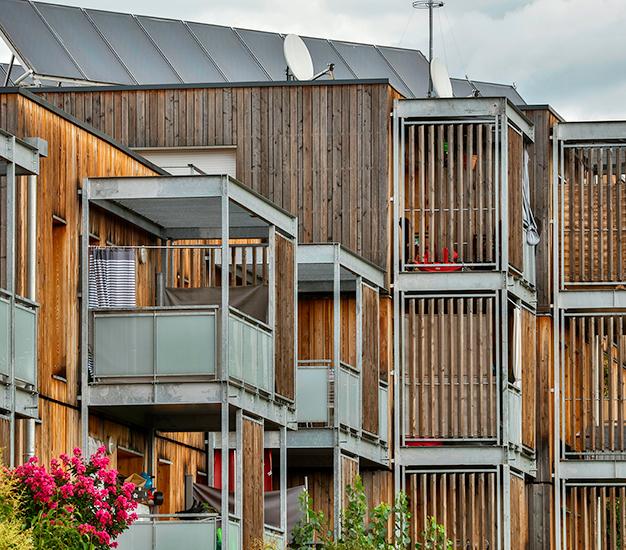 Logements sociaux Bois du Lauragais Toulouse MR3A